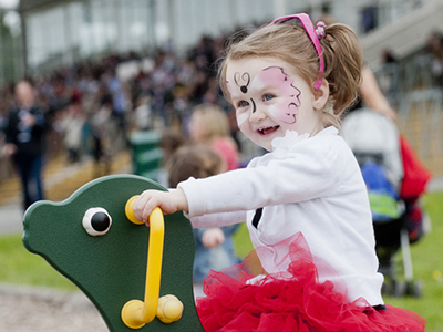 Family Funday At Naas Racecourse