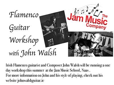 Flamenco Guitar Workshop with John Walsh