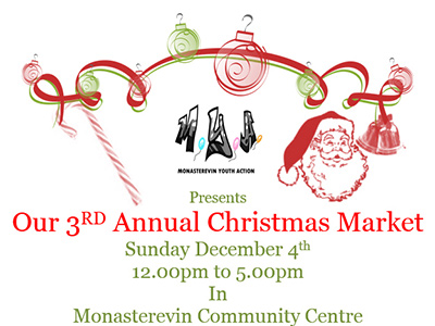 Monasterevin Youth Action's 3rd Annual Christmas Market