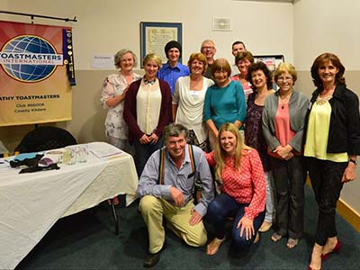 Open Night for Athy Toastmasters.
