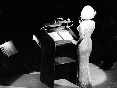 See the Dress Monroe used to seduce JFK