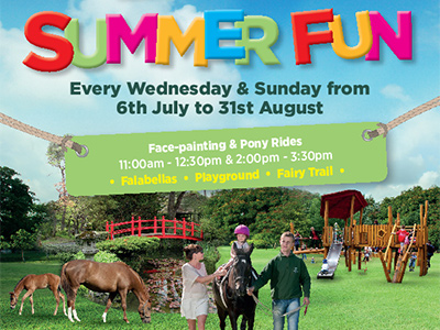 Summer Fun at the Irish National Stud & Gardens