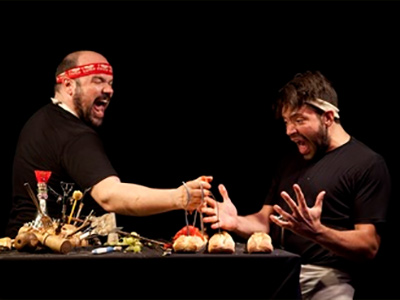 Theatre: Ubu On The Table