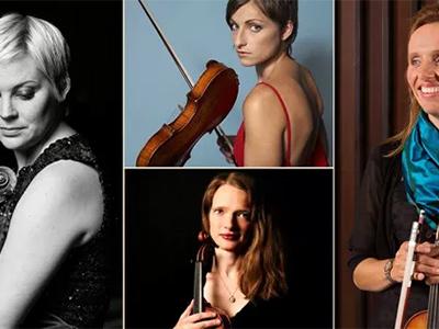 Mia Cooper, Katherine Hunka, Ioana Petcu-Colan and Helena Wood