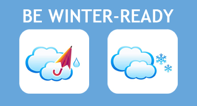 Be Winter-Ready -  download a pdf of tips and advice