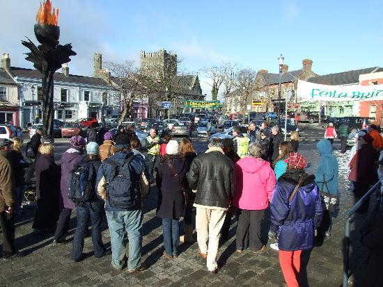 Guided Walking Tour of Kildare Town, Feile Bride 2010