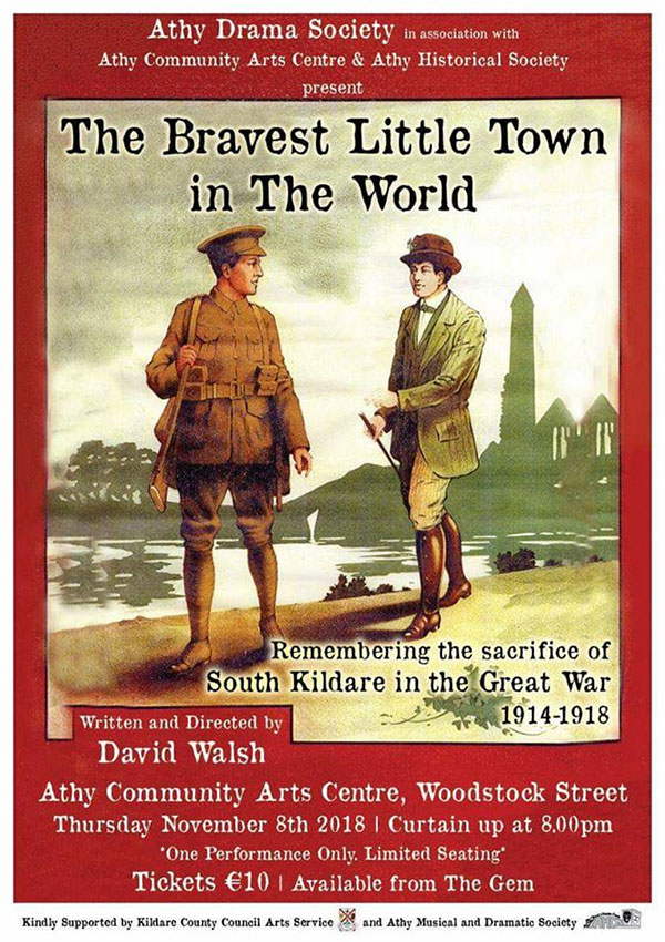 Athy - The Bravest Little Town in the World by David Walsh