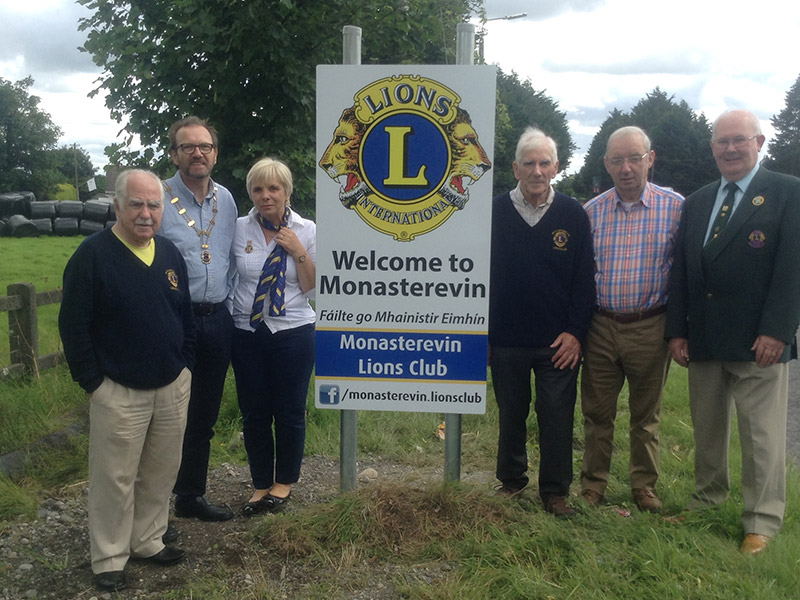 Monasterevin Lions Club on the map  at last.