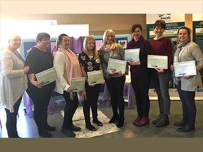 Presentation of Certificates to Mindful Mammies Circle at Relax & Refresh Morning in Athy