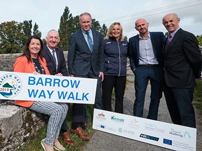 Launch of Barrow Way Walk