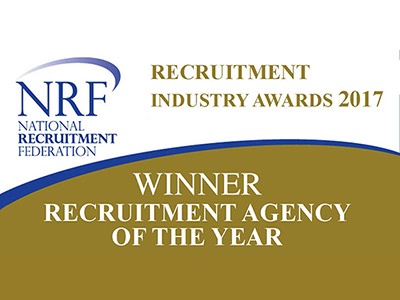 Clark win Recruitment Agency of the Year NRF Award 2017