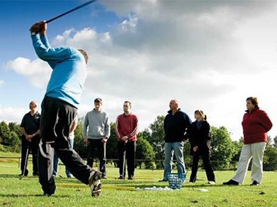 Get Into Golf Initiative at Dunmurry Springs