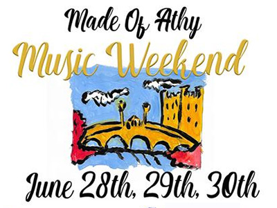 Made of Athy Music Weekend 2019