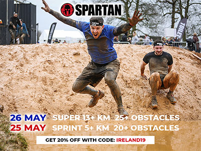 Spartans Obstacle Course Race at Punchestown
