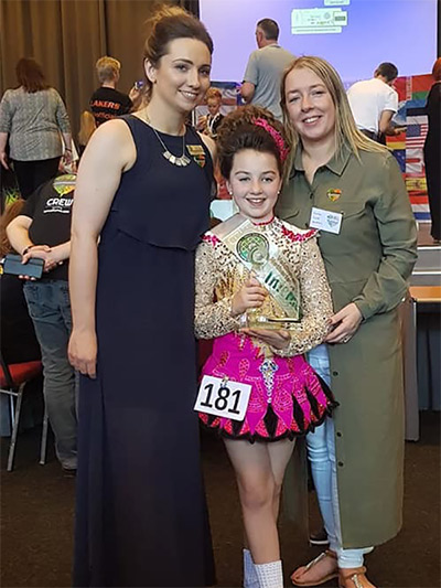 World Irish Dance Championships 2019 Gemma Brennan U10