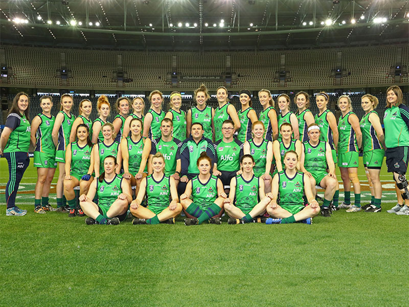 Alfa Irish Banshees Win The 2017 AFL International Cup