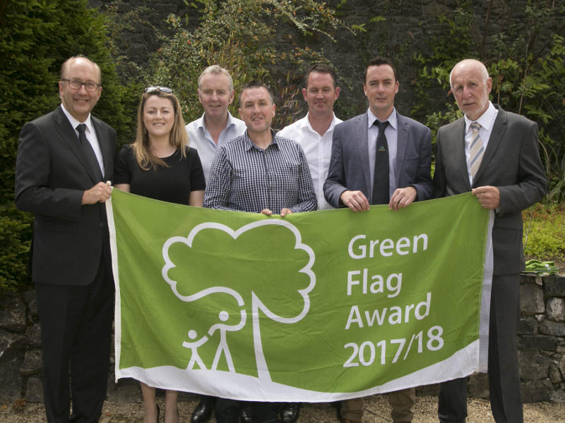 OPW awarded seven Green Flag Awards for OPW National Historic Parks.