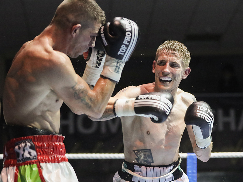 Eric Donovan closing in on European title shot at Celtic Clash 4