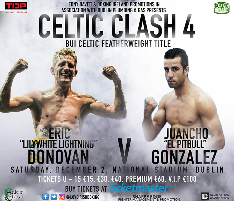 Celtic Clash 4 - Boxing in the National Stadium