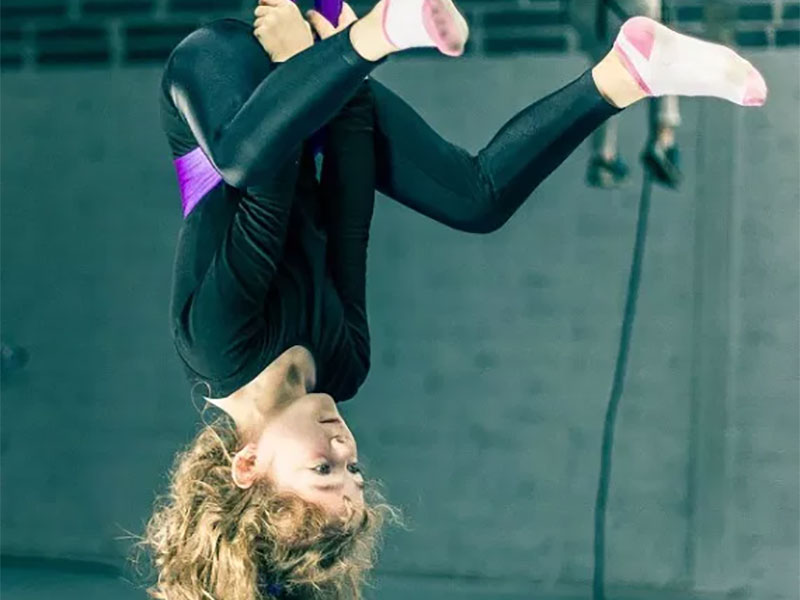 Learn how to fly with Fidget Feet Aerial Dance Company