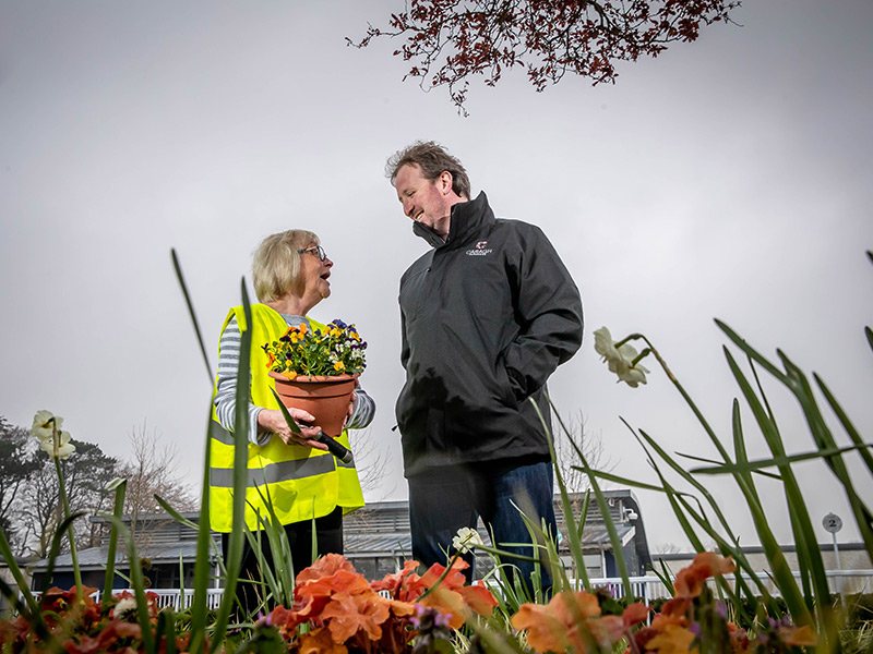 Naas Tidy Towns - Ian McGarry and Pat Clear