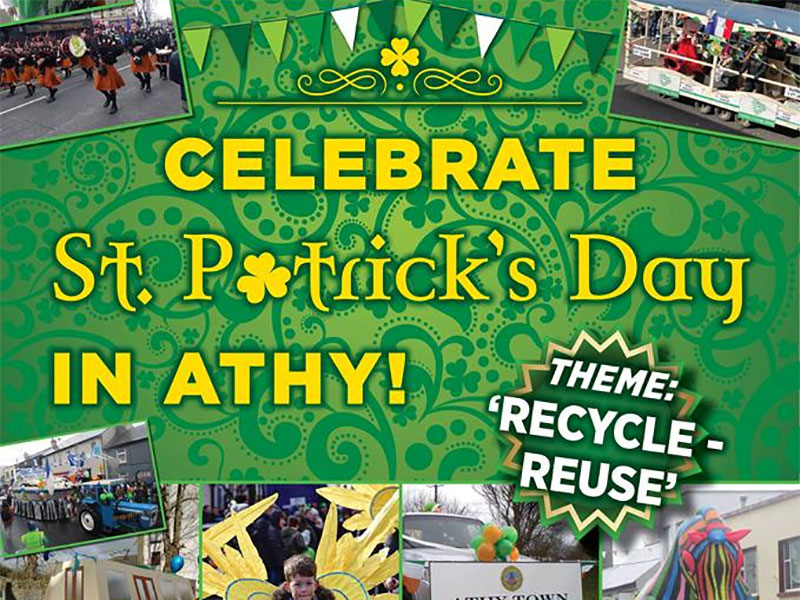 Celebrate St. Patrick's Day in Athy