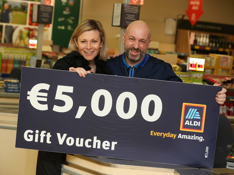 Society of St. Vincent De Paul receives €5K Aldi Boost