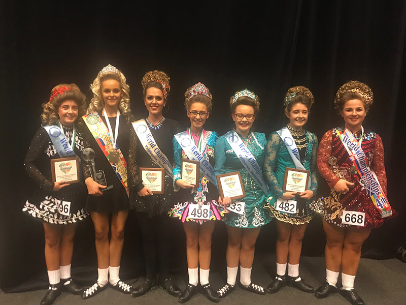 World Irish Dance Championships 2019 Murphy Gray Academy Dancers