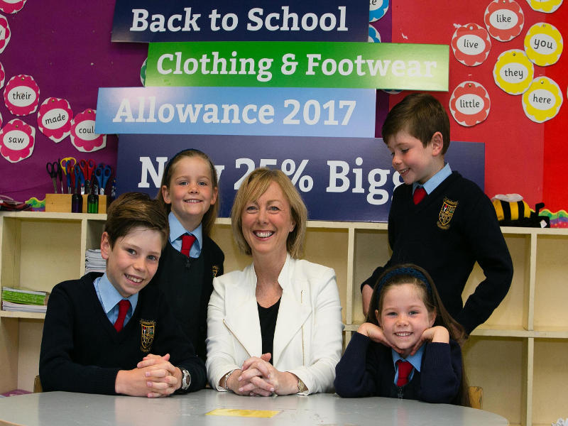 Minister Doherty launches Back to School Allowance Campaign
