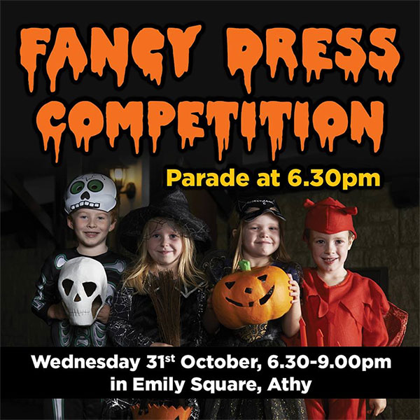 Athy MD Halloween Fancy Dress Competition
