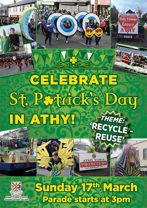St. Patrick's Day Parade Athy 2019