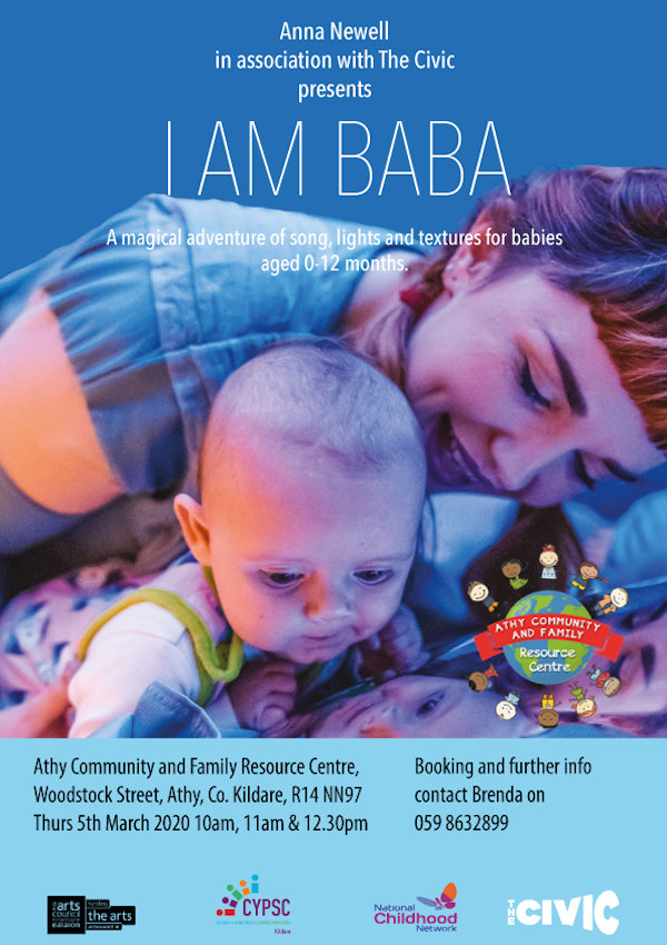 I Am Baba by Anna Newell in association with The Civic at the Athy Community & Family Resource Centre