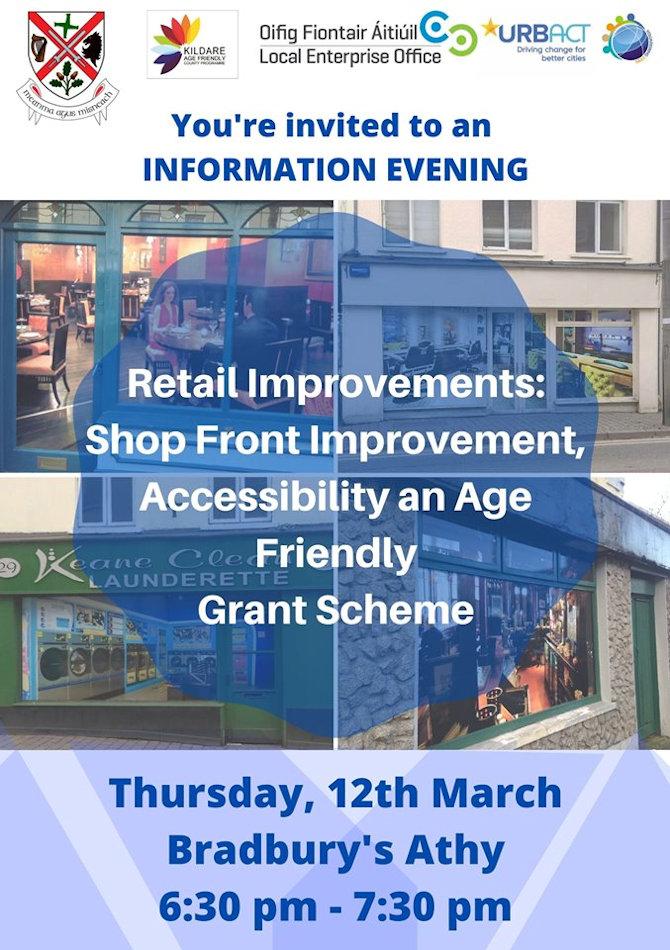 Information Session Shop Front Grant Scheme