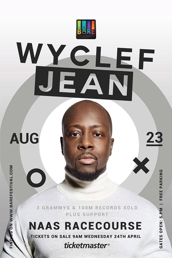 Wyclef Jean at Bare In The Woods Festival 2019