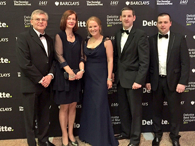 Naas Company EPS Retains Top Business Award