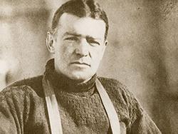 Shackleton snow sledge at London auction