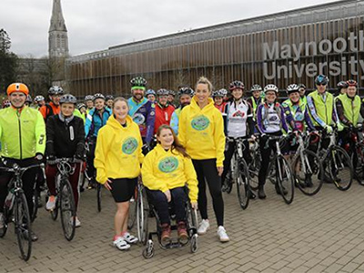 Maynooth Students Cycle for National Rehabilitation Hospital
