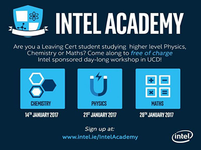 Leaving Cert students invited to sign up for Intel Academy