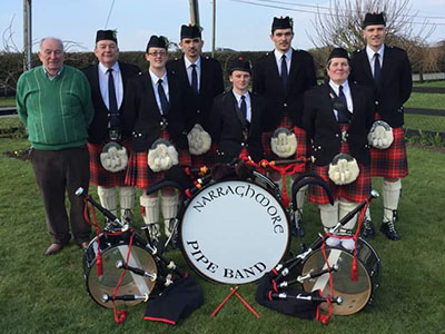 Narraghmore Pipe Band Needs you