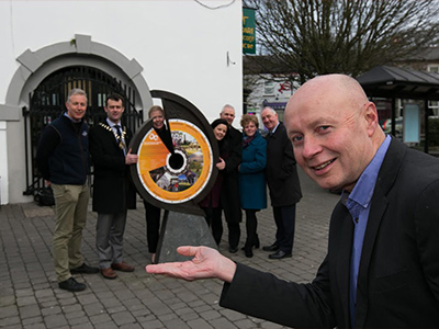 New 'Ireland's Ancient East' Signs Sited in Kildare to Boost Tourism