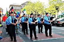 Athy's St. Patrick's Day Parade 2014