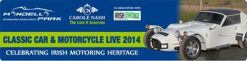 Carole Nash Classic Show to highlight Irish Motoring Heritage