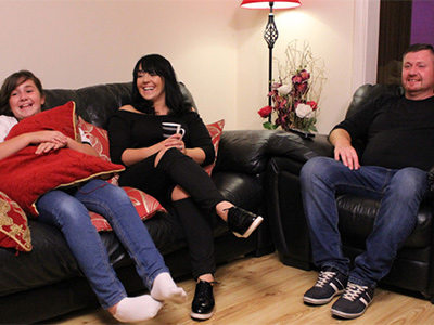 Join Athy's Grufferty family on Gogglebox