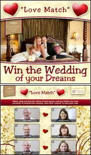 Help a Lucky Couple Win the Wedding of Their Dreams