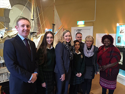 Norwegian Ambassador visits Athy Museum