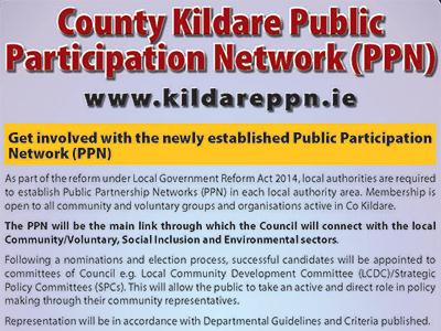 Invitation From Kildare Public Participation Network (PPN)