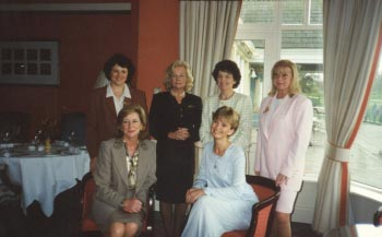 2nd Nov 1997, Lunch at the K Club in aid of Chernobyl with guest speaker Adi Roche