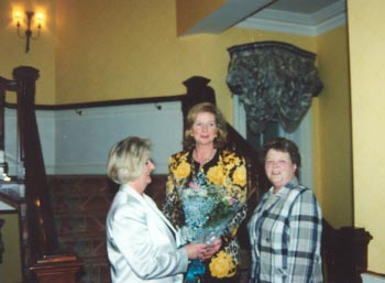 16th May 1996, Cocktail Party in the K Club for international vice president Hilary Paige, OBE